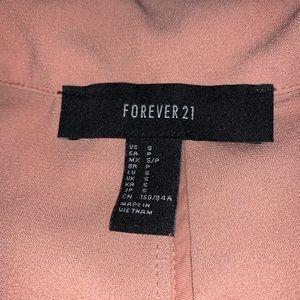Forever 21 Jackets & Coats - Forever 21 salmon blazer